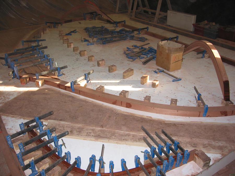 Construction de la Louise étape 3