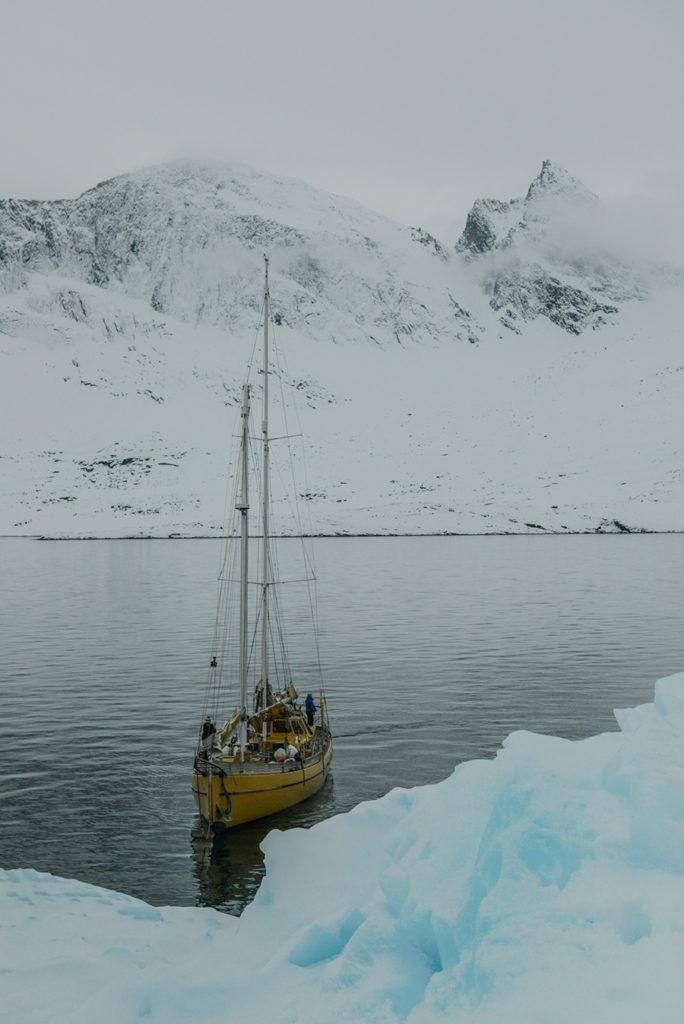 La louise nous emmène skier au Groenland