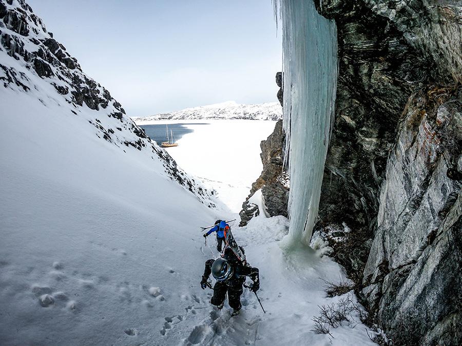 Randonnée ski au Groenland