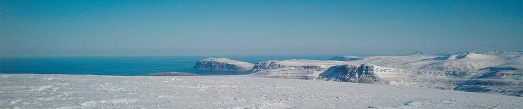 Sommet Blafell Islande