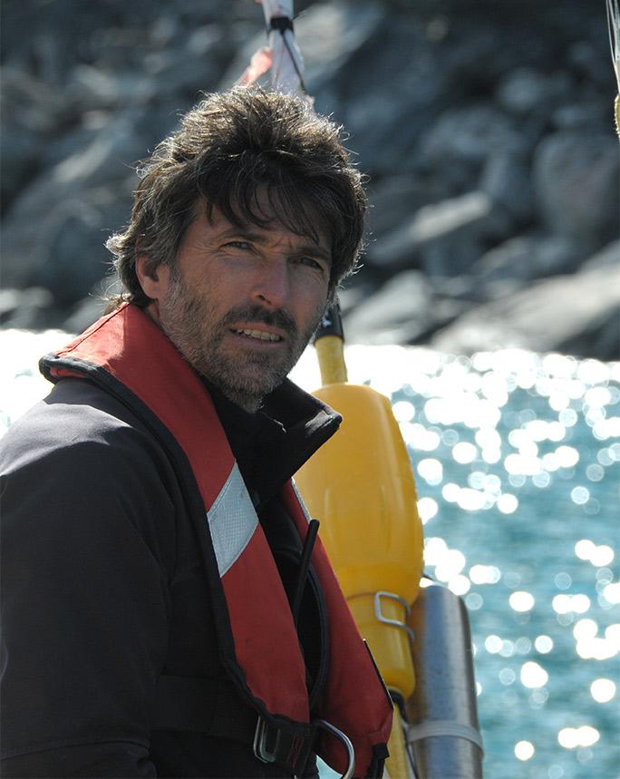 Thierry Dubois, Skipper de La Louise en Arctique