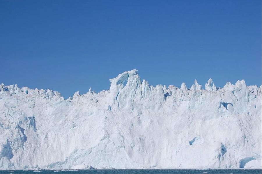 Glaciers au Groenland
