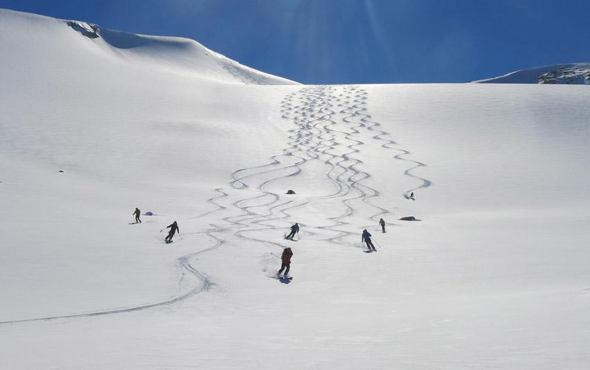Ski eu Groenland