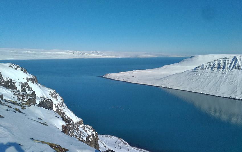Navigation en Islande