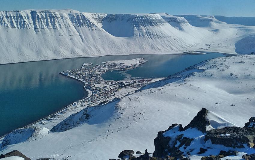 la louise en Islande