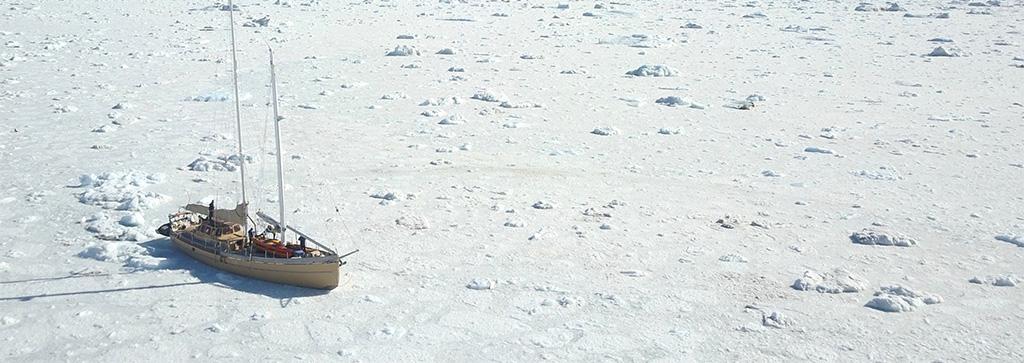 La Louise sur le glacier