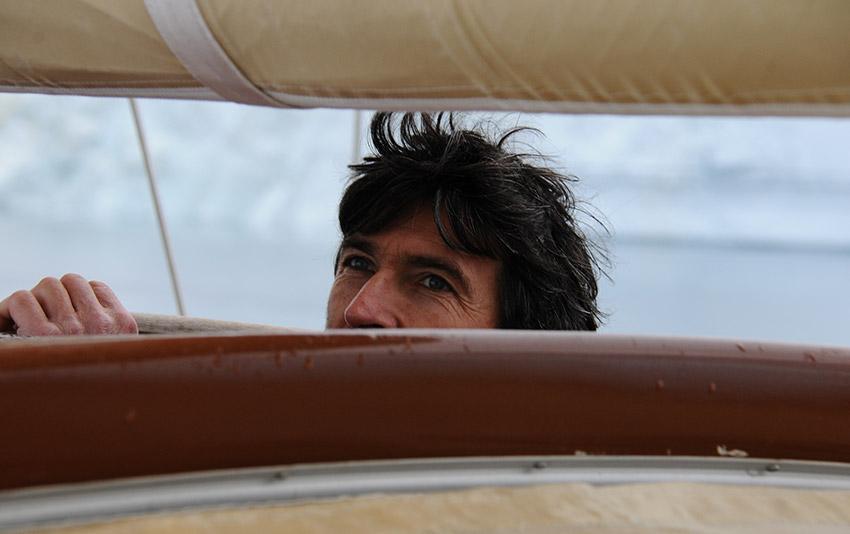 Thierry Dubois, marin expermienté