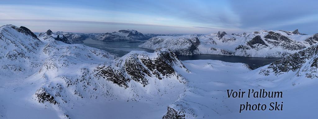 Groenland montagnes